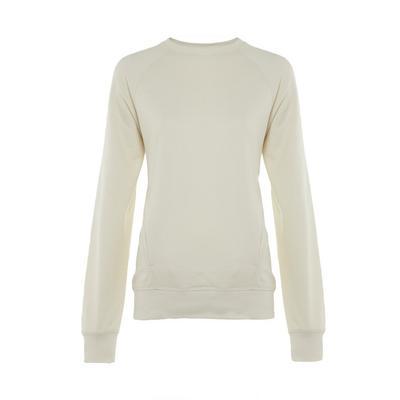 Ivory Premium Stitch Detail Sweater